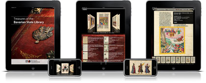 App: Famous Books - Treasures of the Bavarian Library