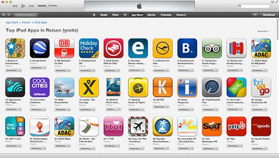 iTunes App Charts