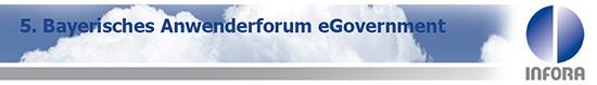 5. Bayerisches Anwenderforum eGovernment