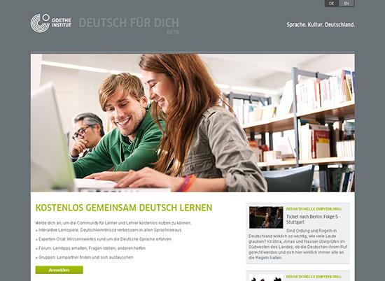 Deutsch für dich - Startseite