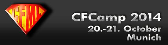 CFCamp 2014 Banner