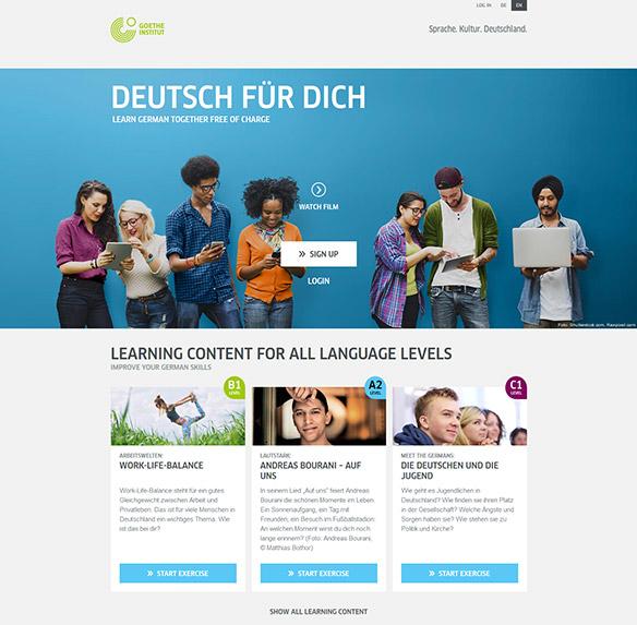 deutsch chat free
